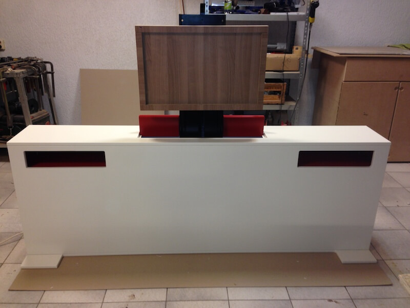 Tv Meubel Lift.Tv Meubel Met Lift Slinkart Design